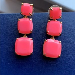 Kate Spade square drop earrings